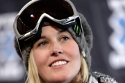 Canadian freestyle skier Sarah Burke 